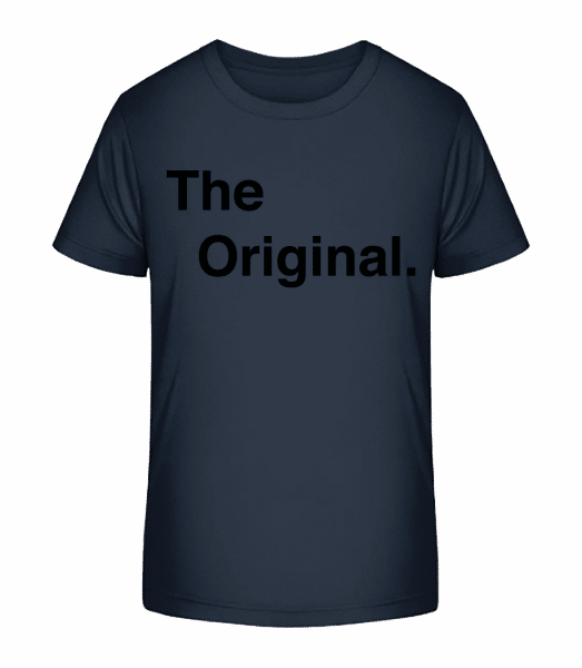 The Original - Kid's Premium Bio T-Shirt - Navy - Vorn