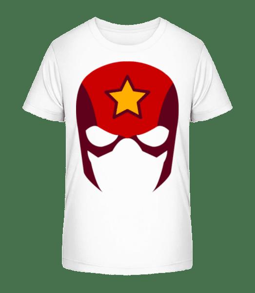 Superhero Icon - Detské Premium Bio tričko - Biela - Predné