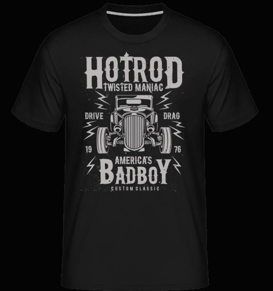 Twisted Hotrod -  Shirtinator Men's T-Shirt - Black - Vorn