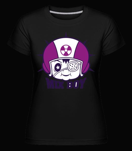 Mix Boy -  Shirtinator Women's T-Shirt - Black - Vorn