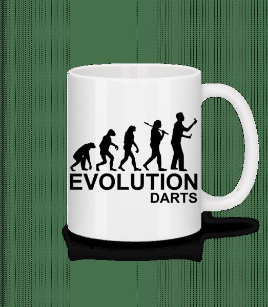 Darts Of Evolution - Mug - White - Vorn
