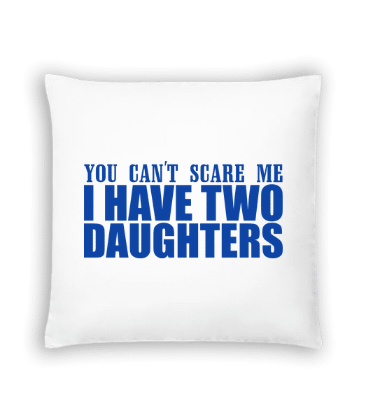 I Have Two Daughters - Cushion - White - Vorn