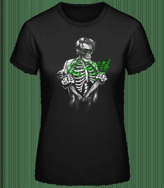 Musique Des Morts - Basic T-Shirt - Black - Vorn