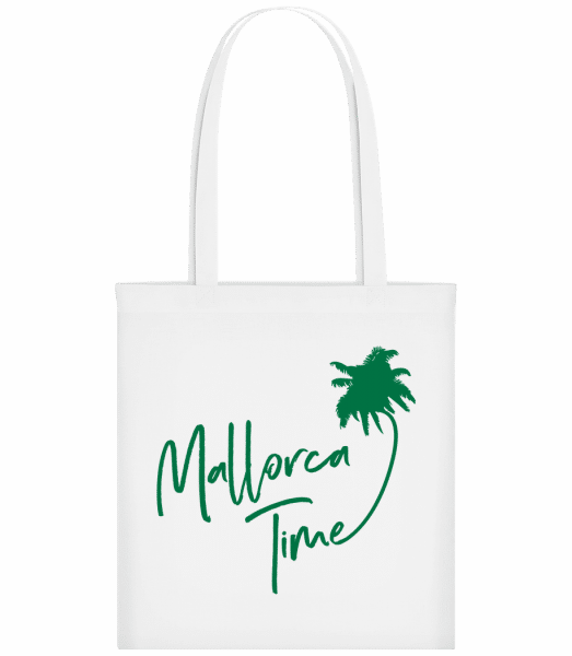 Mallorca Time - Carrier Bag - White - Vorn