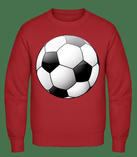 Football - Classic Set-In Sweatshirt - Red - Vorn