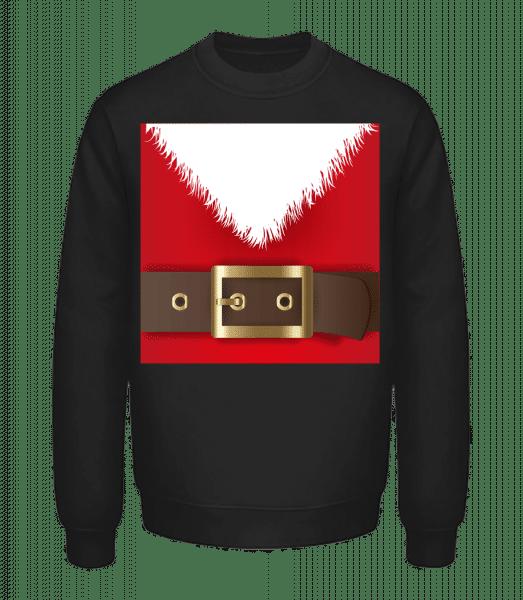 Santa's Belt - Unisex Sweatshirt - Black - Vorn