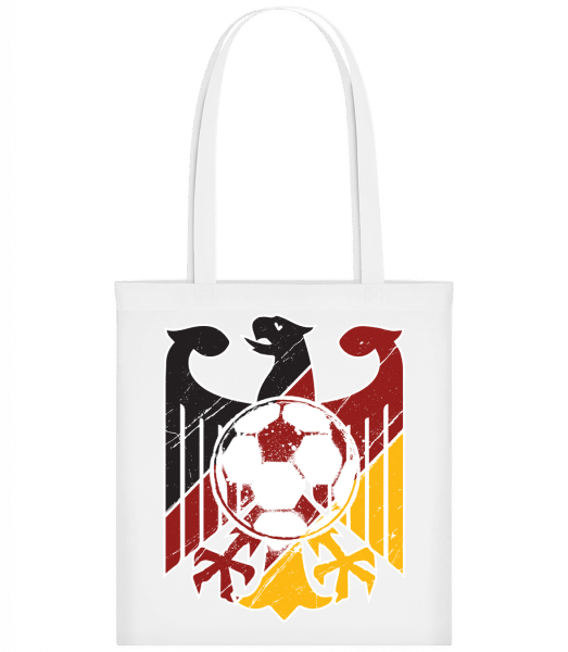 Football Germany - Carrier Bag - White - Vorn
