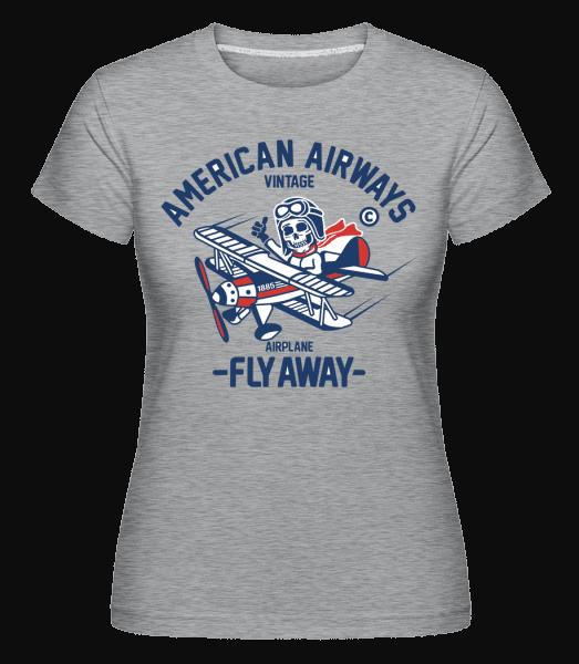 Dead Pilot -  Shirtinator Women's T-Shirt - Heather grey - Vorn