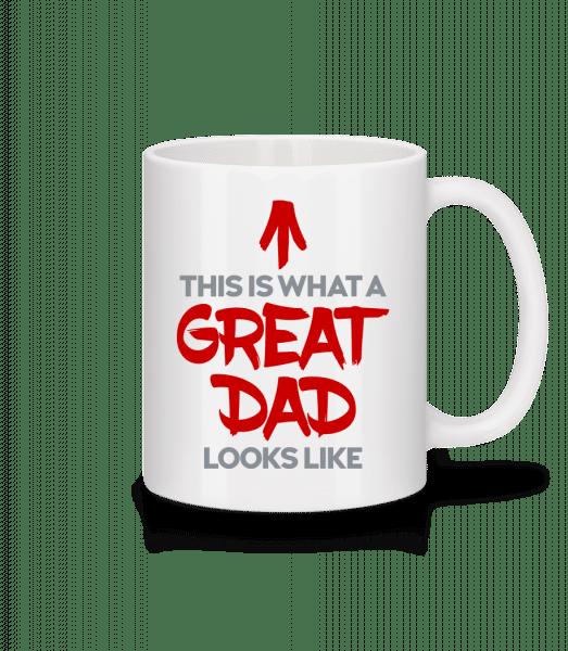 Great Dad Looks Like - Mug - White - Vorn