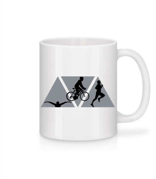 Triathlon - Mug - White - Vorn