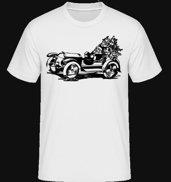 Christmas Oldtimer -  Shirtinator Men's T-Shirt - White - Vorn