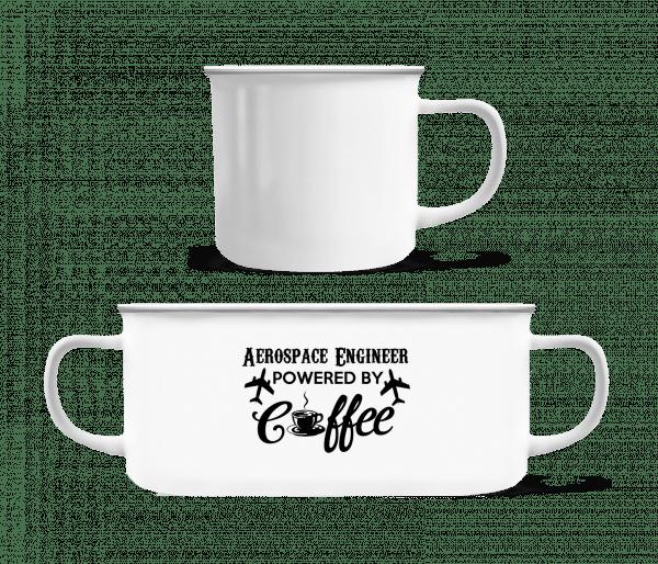 Aerospace Engineer - Enamel-cup - White - Vorn