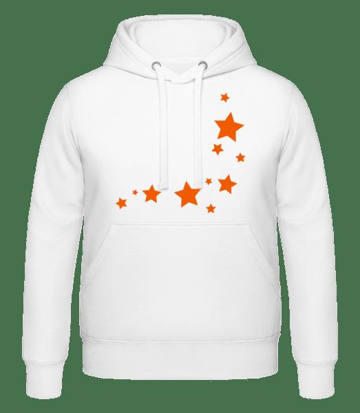Stars - Hoodie - White - Vorn