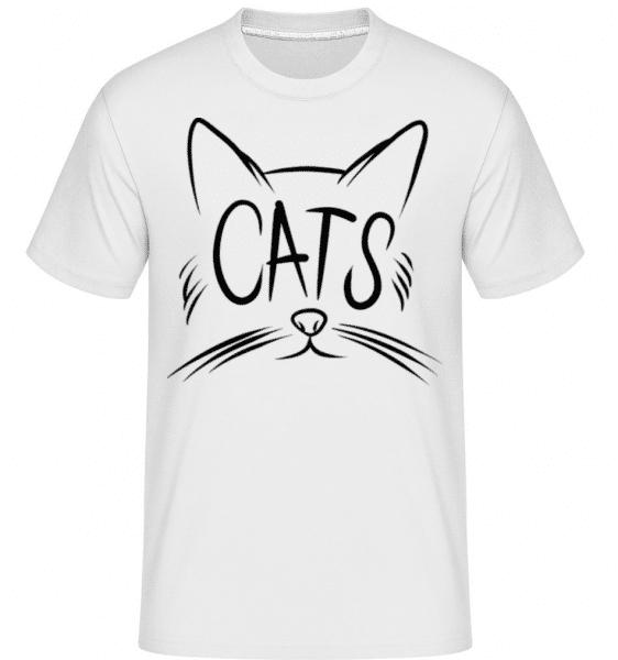 Cats -  Shirtinator Men's T-Shirt - White - Front