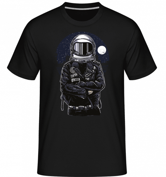 Astronaut Rebel -  Shirtinator Men's T-Shirt - Black - Vorn