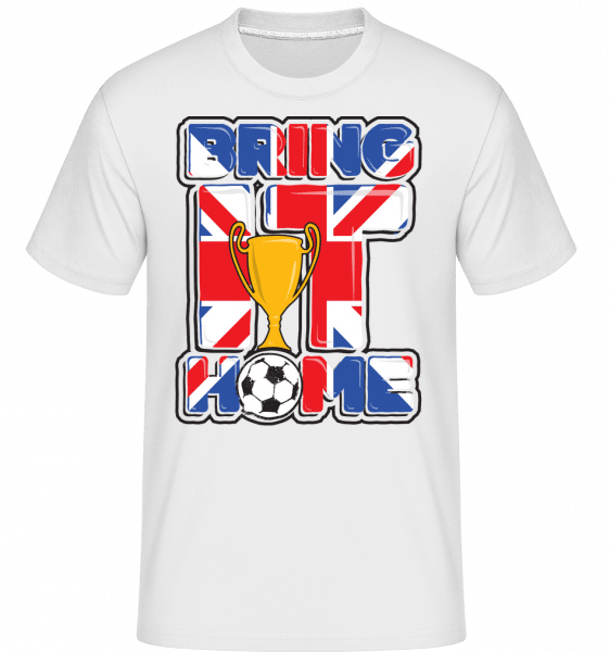 Football Britannique Bring It Home -  T-Shirt Shirtinator homme - Blanc - Vorn