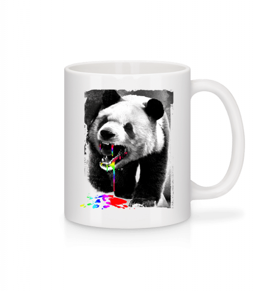 Panda Eat Unicorn - Mug - White - Vorn