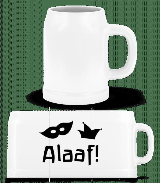 Alaaf! - Beer Mug - White - Vorn
