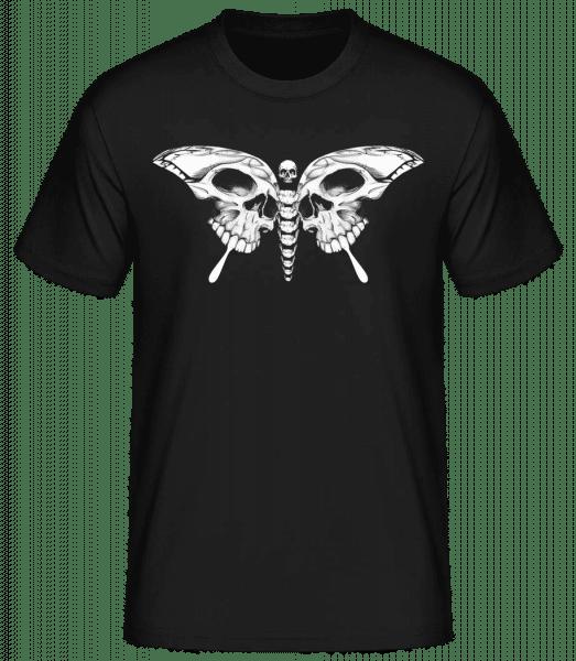 Schmetterling Des Todes - Basic T-Shirt - Schwarz - Vorn