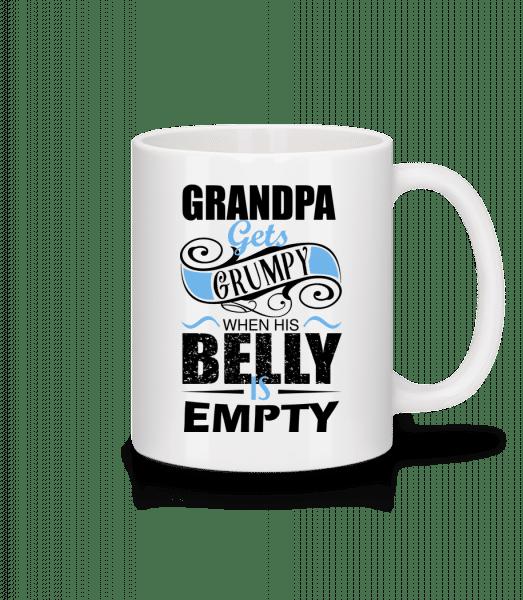 Grandpa Gets Grumpy - Mug - White - Vorn