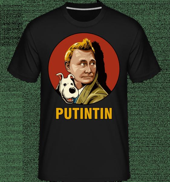 Putintin -  Shirtinator Men's T-Shirt - Black - Vorn
