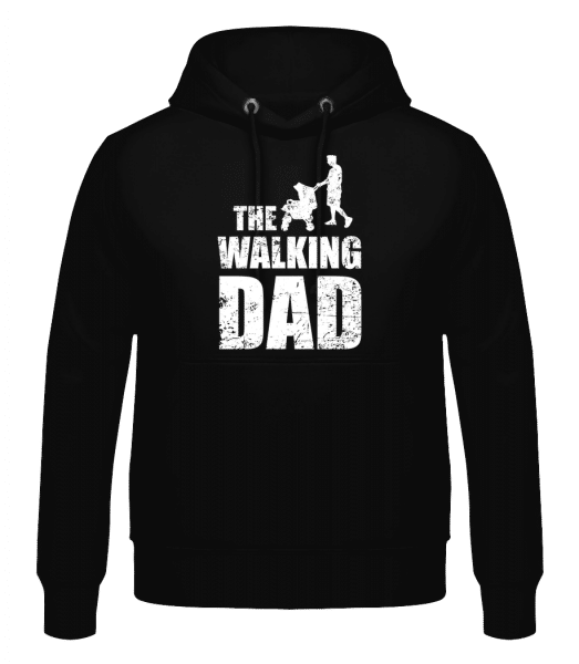 The Walking Dad - Men's Hoodie - Black - Vorn
