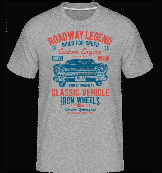 Roadway Legend(1) -  Shirtinator Men's T-Shirt - Heather grey - Vorn