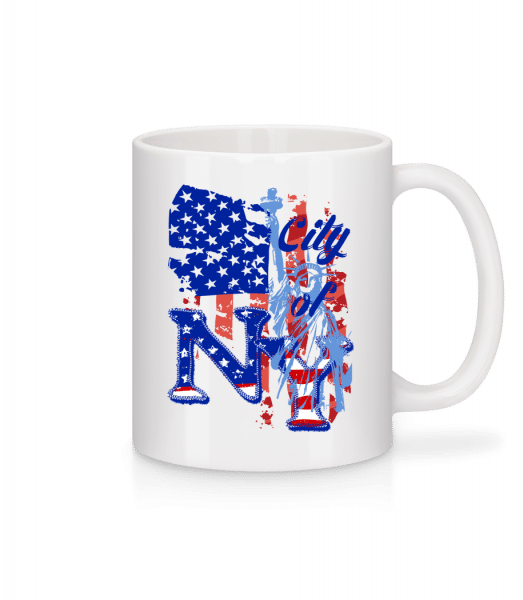 City Of NY - Mug - White - Vorn