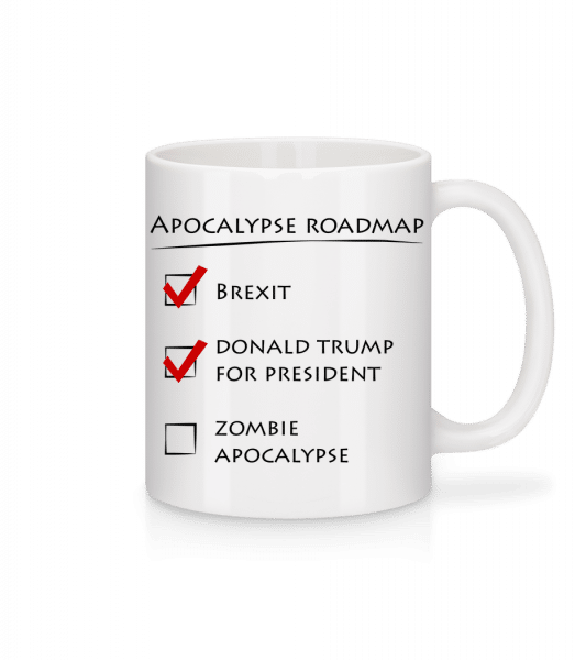 Apocalypse Roadmap - Mug - White - Vorn