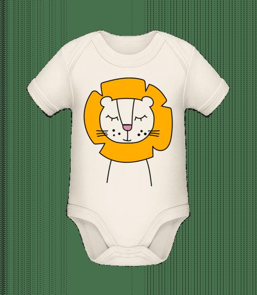 Cute Lion - Bio body pro děti - Krémová - Napřed