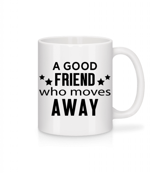Friend Who Moves Away - Mug - White - Vorn