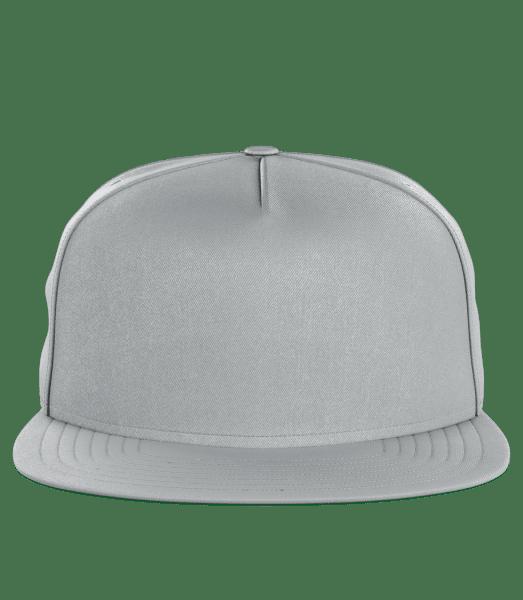 Snapback Cap - Grey - Front