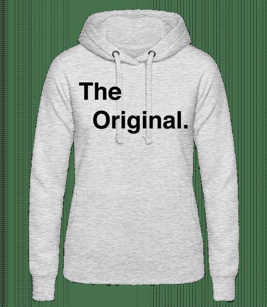 The Original - Women's hoodie - Heather grey - Vorn