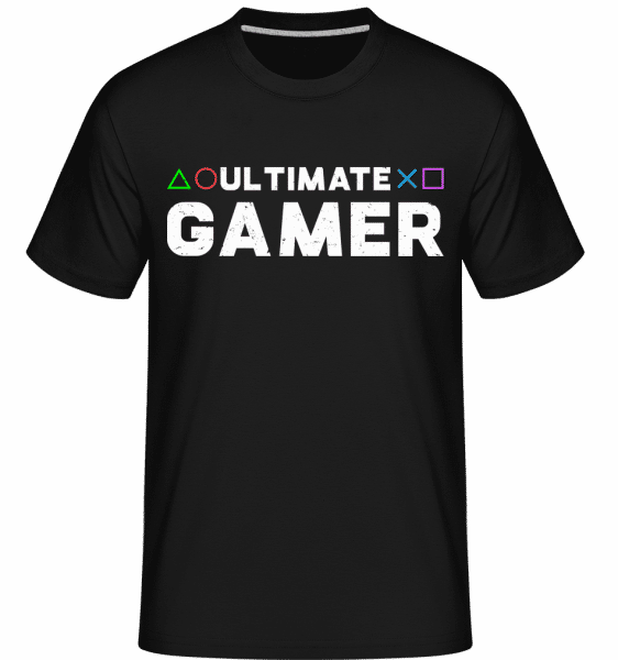 Ultimate Gamer -  Shirtinator Men's T-Shirt - Black - Vorn