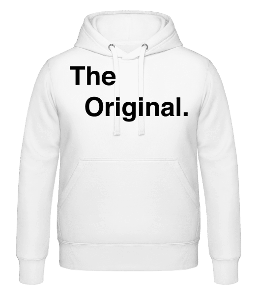 The Original - Hoodie - White - Vorn