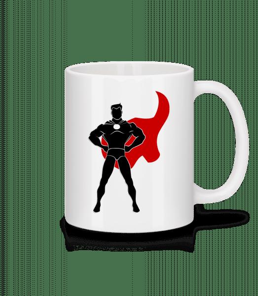 Superhero Standing - Mug - White - Front