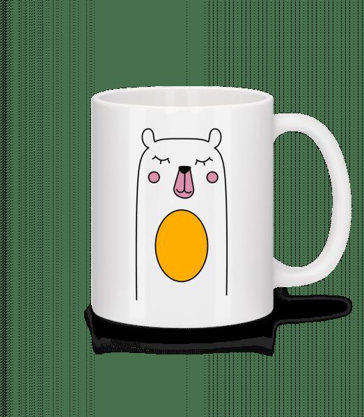 Cute Bear - Mug - White - Vorn