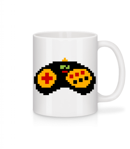 Consoles Controller Oldschool - Mug - White - Front