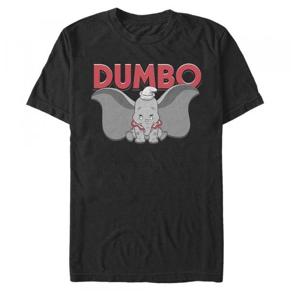 Dumbo is Dumbo - Disney - Men's T-Shirt - Black - Front