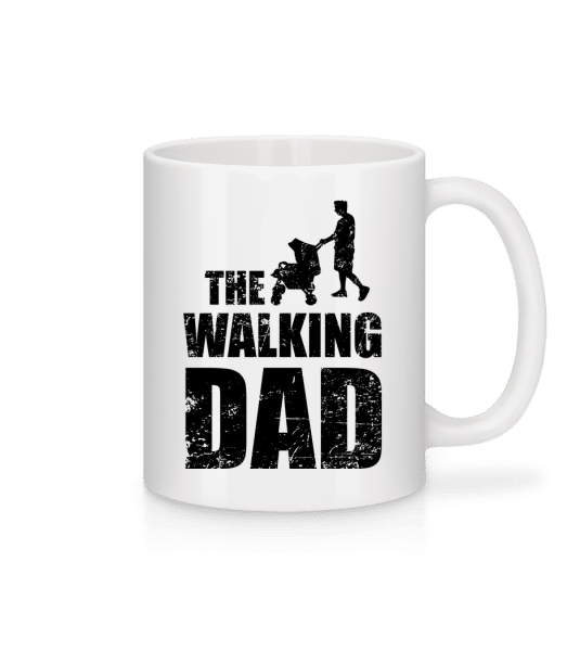 The Walking Dad - Mug - White - Vorn