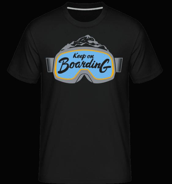 Keep On Boarding -  Shirtinator Men's T-Shirt - Black - Vorn
