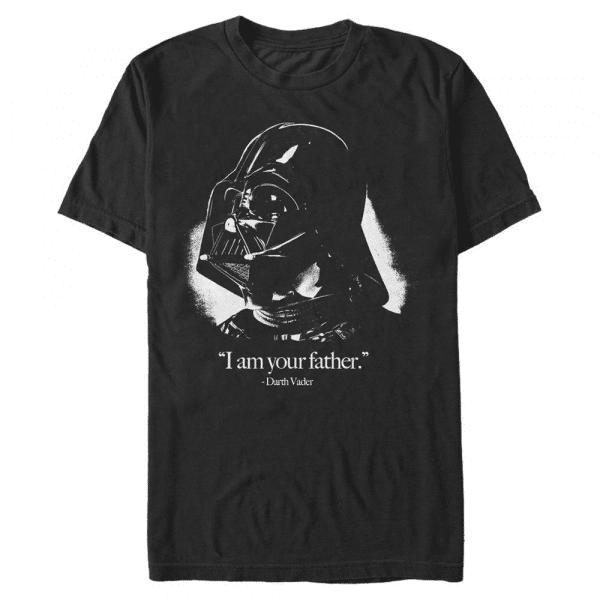 Vader is the Father Darth Vader - Star Wars - Men's T-Shirt - Black - Front