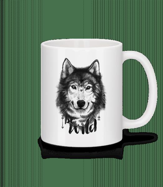 Be Wild - Mug - White - Vorn