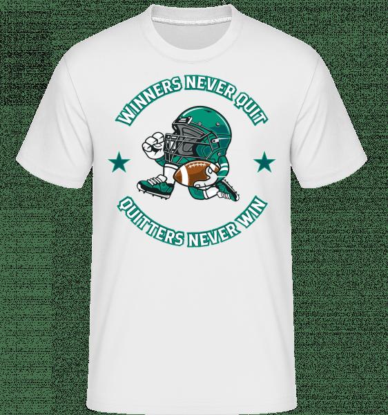 Football Player -  Shirtinator tričko pre pánov - Biela - Predné