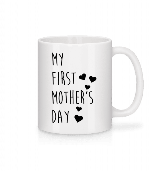 My First Mother's Day - Mug - White - Vorn