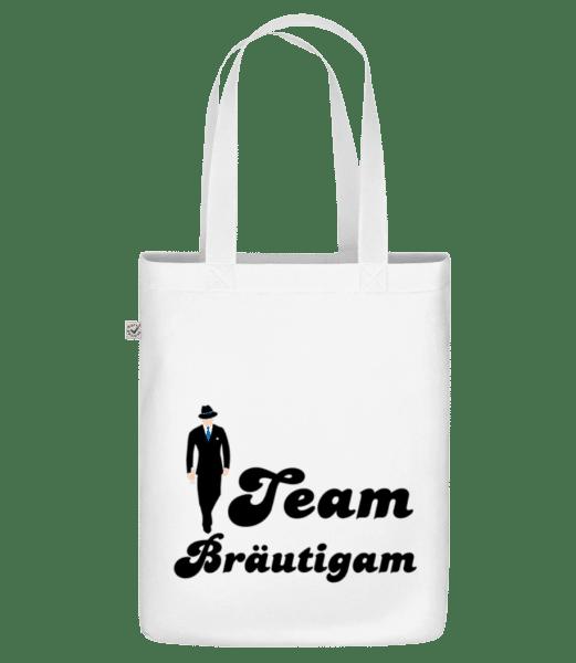Team Bräutigam - Bio Tasche - Weiß - Vorn