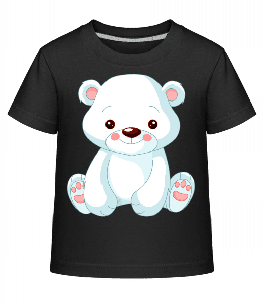 Sweet Polar Bear - Kid's Shirtinator T-Shirt - Black - Vorn