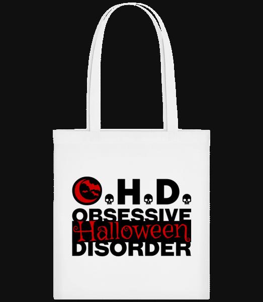 Obsessive Halloween Disorder - Stoffbeutel - Weiß - Vorn