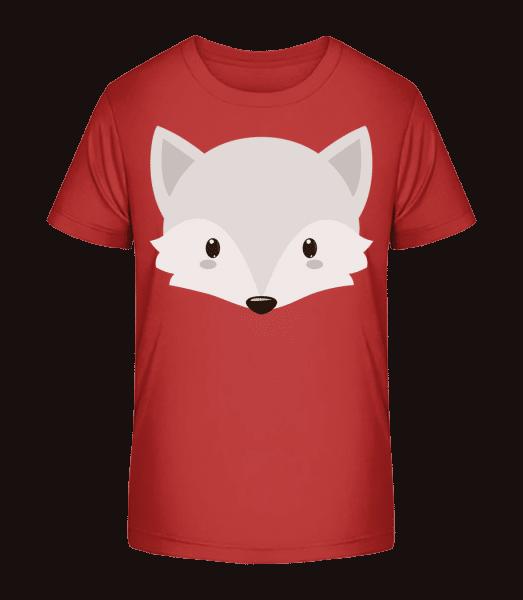 Fox Comic - Kid's Premium Bio T-Shirt - Cherry - Vorn