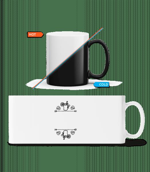 Mulled Tine Template - Magic Mug - White - Front